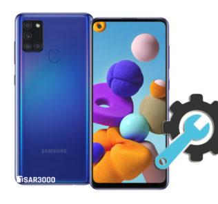 Factory Reset Samsung Galaxy A21s