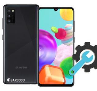 Factory Reset Samsung Galaxy A41