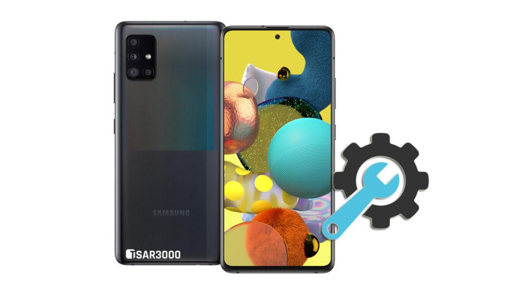 Factory Reset Samsung Galaxy A51 5G
