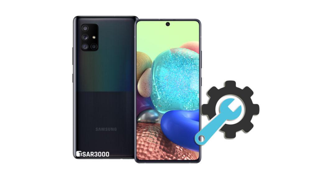 Factory Reset Samsung Galaxy A71 5G