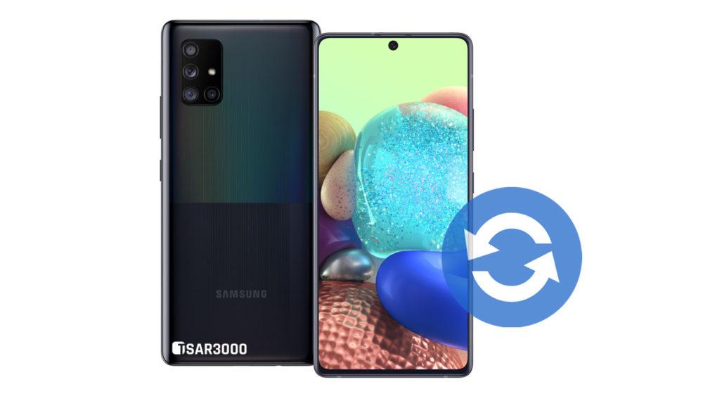 Samsung Galaxy A Quantum Software Update