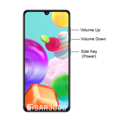 Samsung Galaxy A41 Hardware Buttons