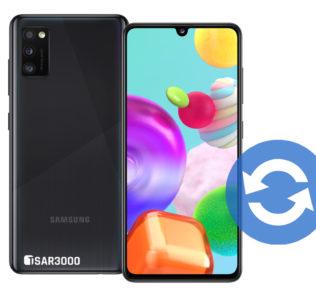 Samsung Galaxy A41 Software Update