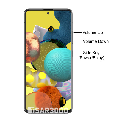 Samsung Galaxy A51 5G Hardware Buttons