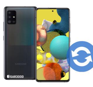 Samsung Galaxy A51 5G Software Update