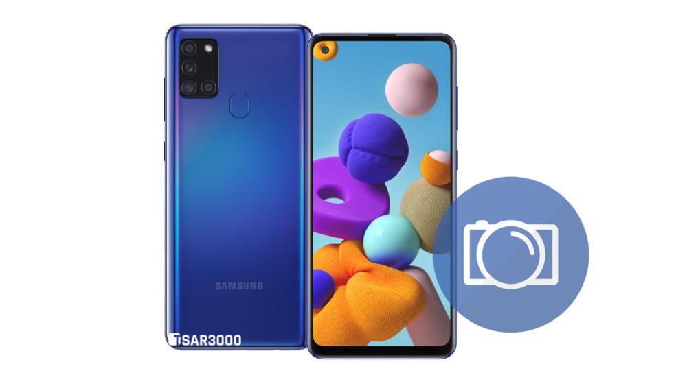 Take Screenshot Samsung Galaxy A21s