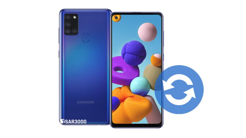 Update Samsung Galaxy A21s Software