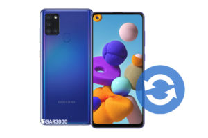 Update Samsung Galaxy A21s Software