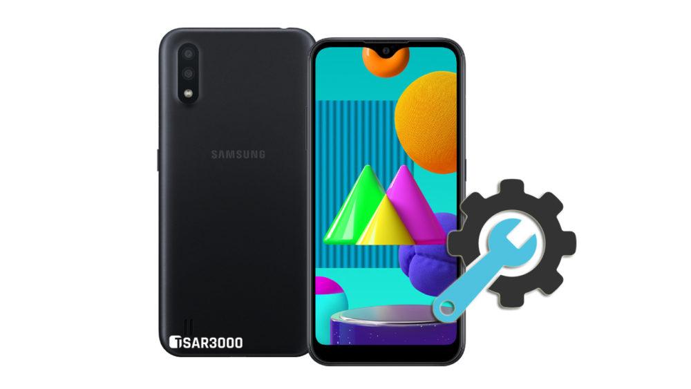 Factory Reset Samsung Galaxy M01