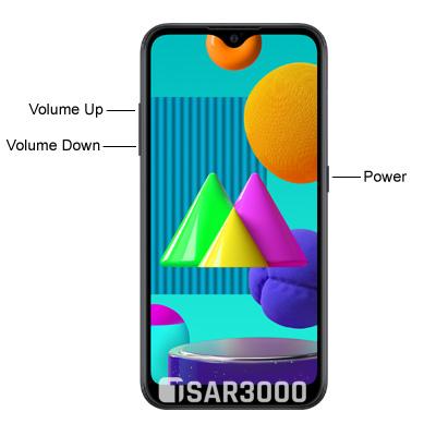 Samsung Galaxy M01 Hardware Buttons