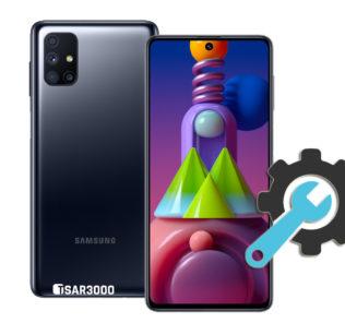 Factory Reset Samsung Galaxy M51