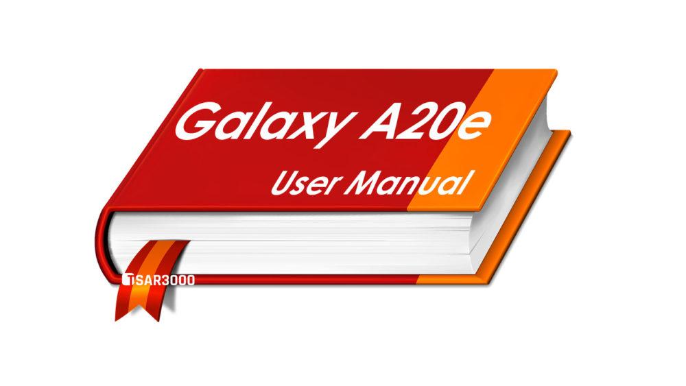 Samsung Galaxy A20e User Manual PDF Download