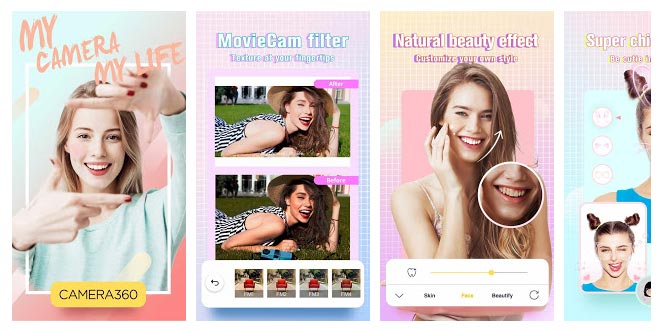 Camera360 App for Samsung Android Phones