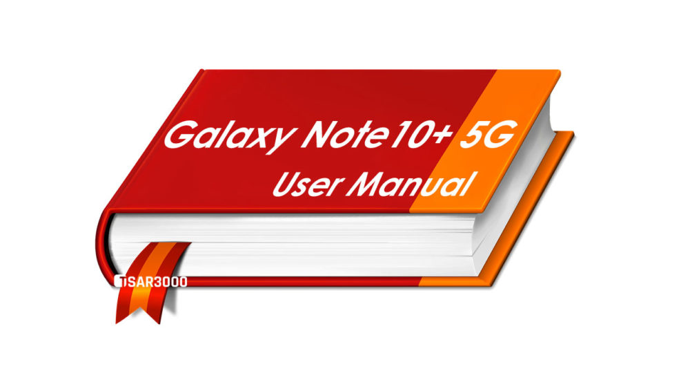 Samsung Galaxy Note10 Plus 5G User Manual PDF Download