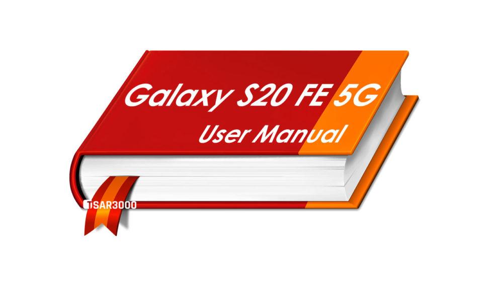 Samsung Galaxy S20 FE 5G User Manual PDF Download