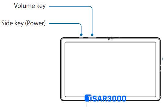 Samsung Galaxy Tab A7 2020 Hardware Buttons