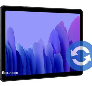 Samsung Galaxy Tab A7 2020 Software Update