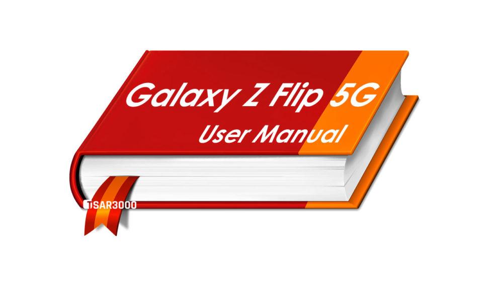 Samsung Galaxy Z Flip 5G User Manual PDF Download