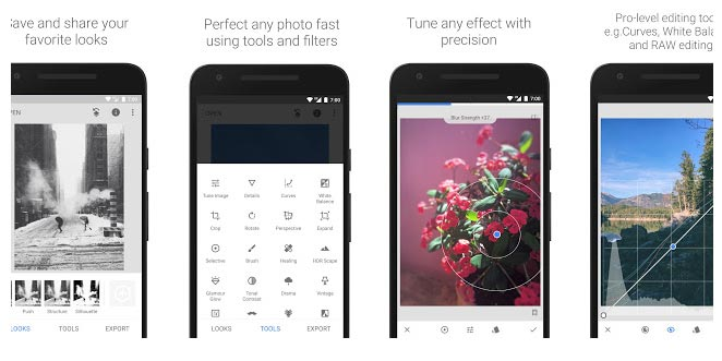 Snapseed Camera App for Samsung Android Phones