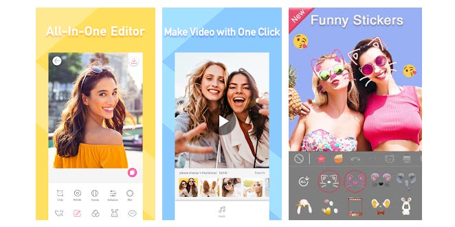 Sweet Selfie Camera App for Samsung Android Phones