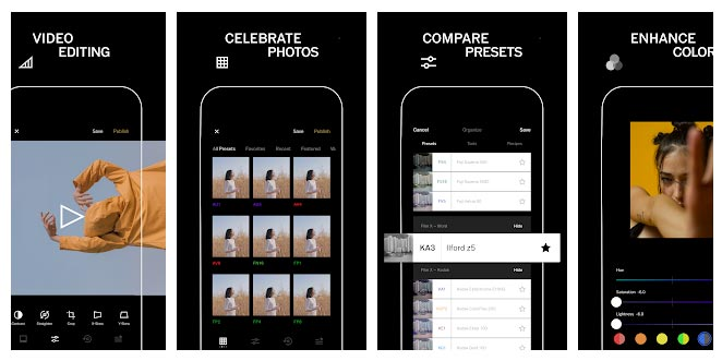 VSCO Camera App for Samsung Android Phones