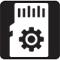 MicroSD Mounting icon