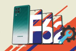 Factory Reset Samsung Galaxy F62