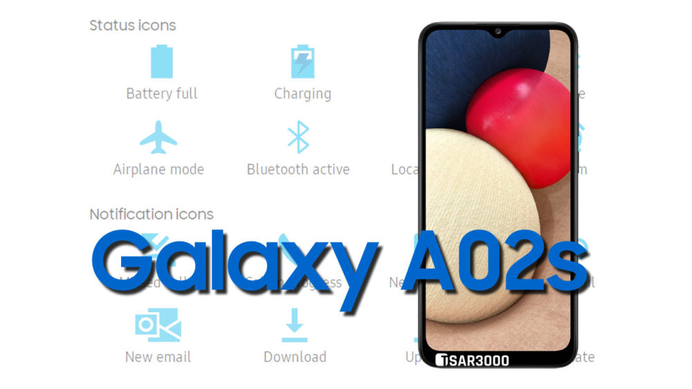 Samsung Galaxy A02s Status Bar icons Meaning