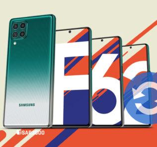 Samsung Galaxy F62 Software Update