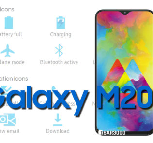 Samsung Galaxy M20 Status Bar icons Meaning