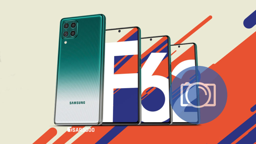 Take Screenshot in Samsung Galaxy F62