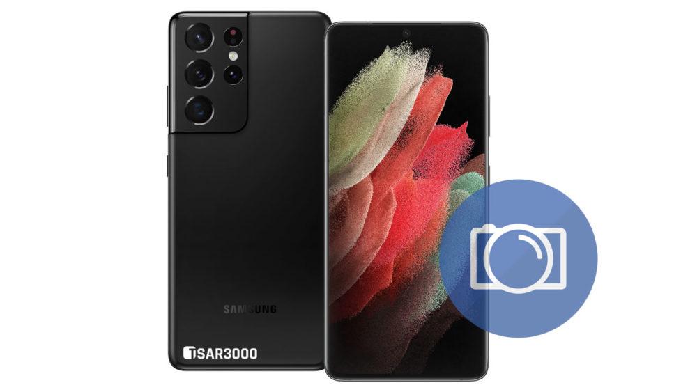 Take Screenshot in Samsung Galaxy S21 Ultra 5G