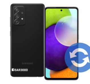 Samsung Galaxy A52 Software Update