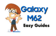 Samsung Galaxy M62 Easy Guides