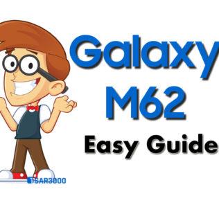 Samsung Galaxy M62 Easy Guides