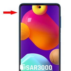 Samsung Galaxy M62 SIM Card Slot Location