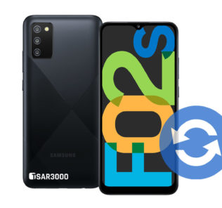 Samsung Galaxy F02s Software Update