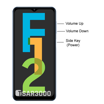 Samsung Galaxy F12 Hardware Buttons