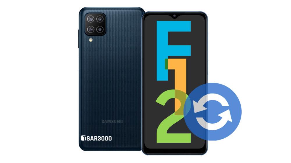 Samsung Galaxy F12 Software Update