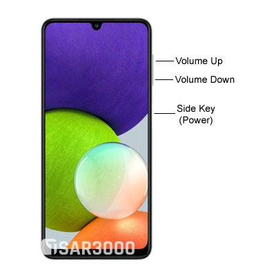 Samsung Galaxy A22 4G Hardware Buttons