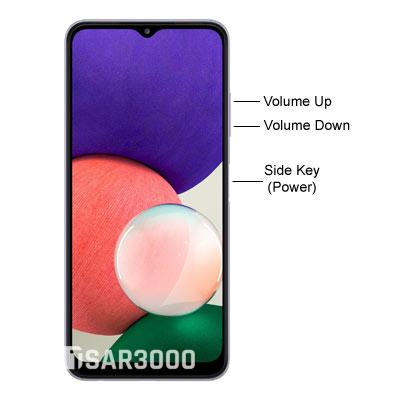Samsung Galaxy A22 5G Hardware Buttons