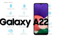 Samsung Galaxy A22 Status Bar Icons Meaning