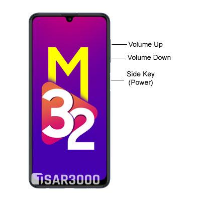 Samsung Galaxy M32 Hardware Buttons