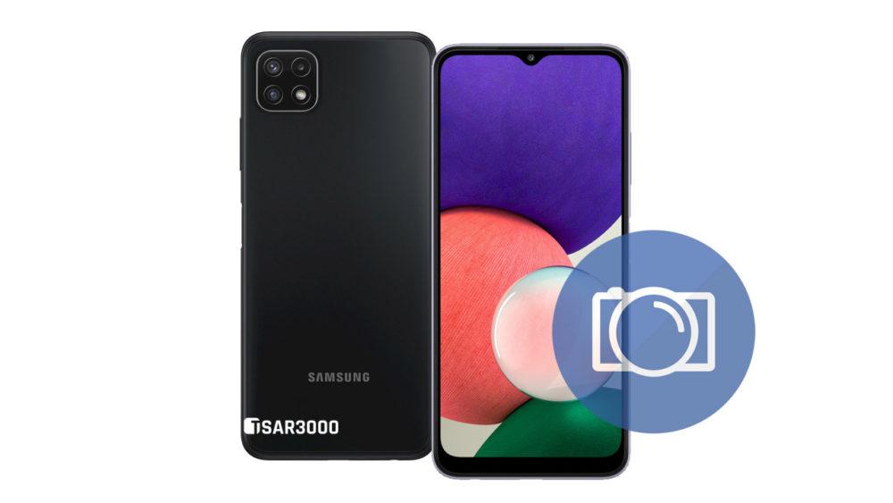 Take Screenshot Samsung Galaxy A22 5G