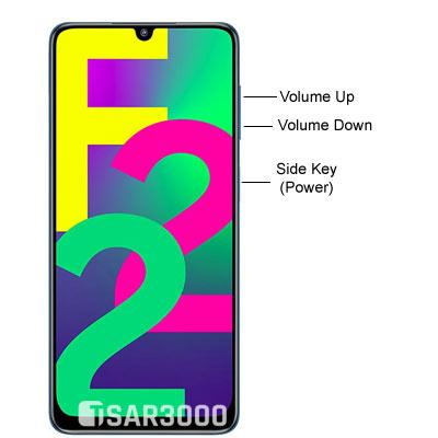 Samsung Galaxy F22 Hardware Buttons