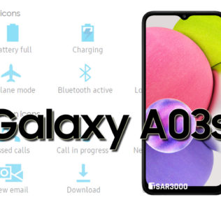 Samsung Galaxy A03s Status Bar Icons Meaning