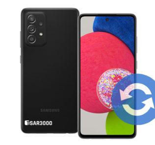 Samsung Galaxy A52s 5G Software Update
