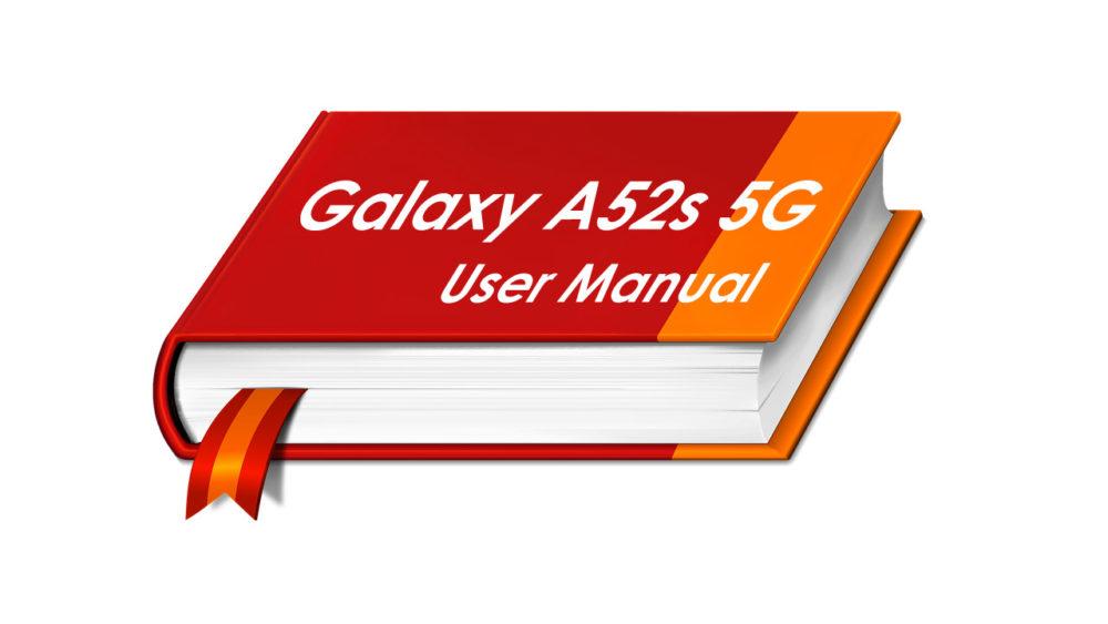Samsung Galaxy A52s User Manual PDF File