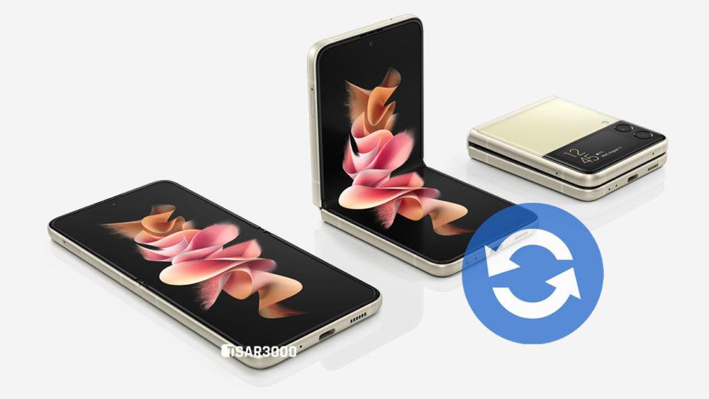 Samsung Galaxy Z Flip3 5G Software Update