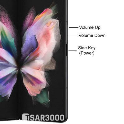 Samsung Galaxy Z Fold3 5G Hardware Buttons